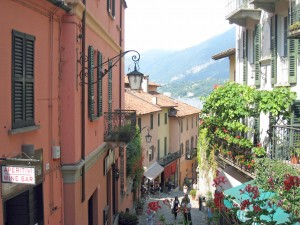 A Street in Bellagio